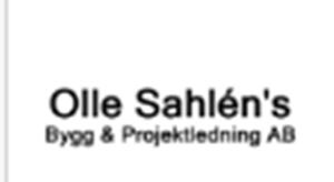 Olle Sahlén's Bygg & Projektledning Aktiebolag logo