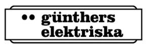 Günthers Elektriska Handelsbolag logo