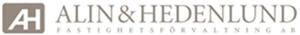 Alin & Hedenlund Fastighetsförvaltning Aktiebolag logo