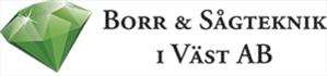 Borr & sågteknik i väst AB logo