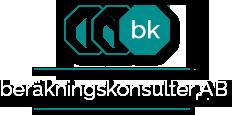 bk beräkningskonsulter AB logo